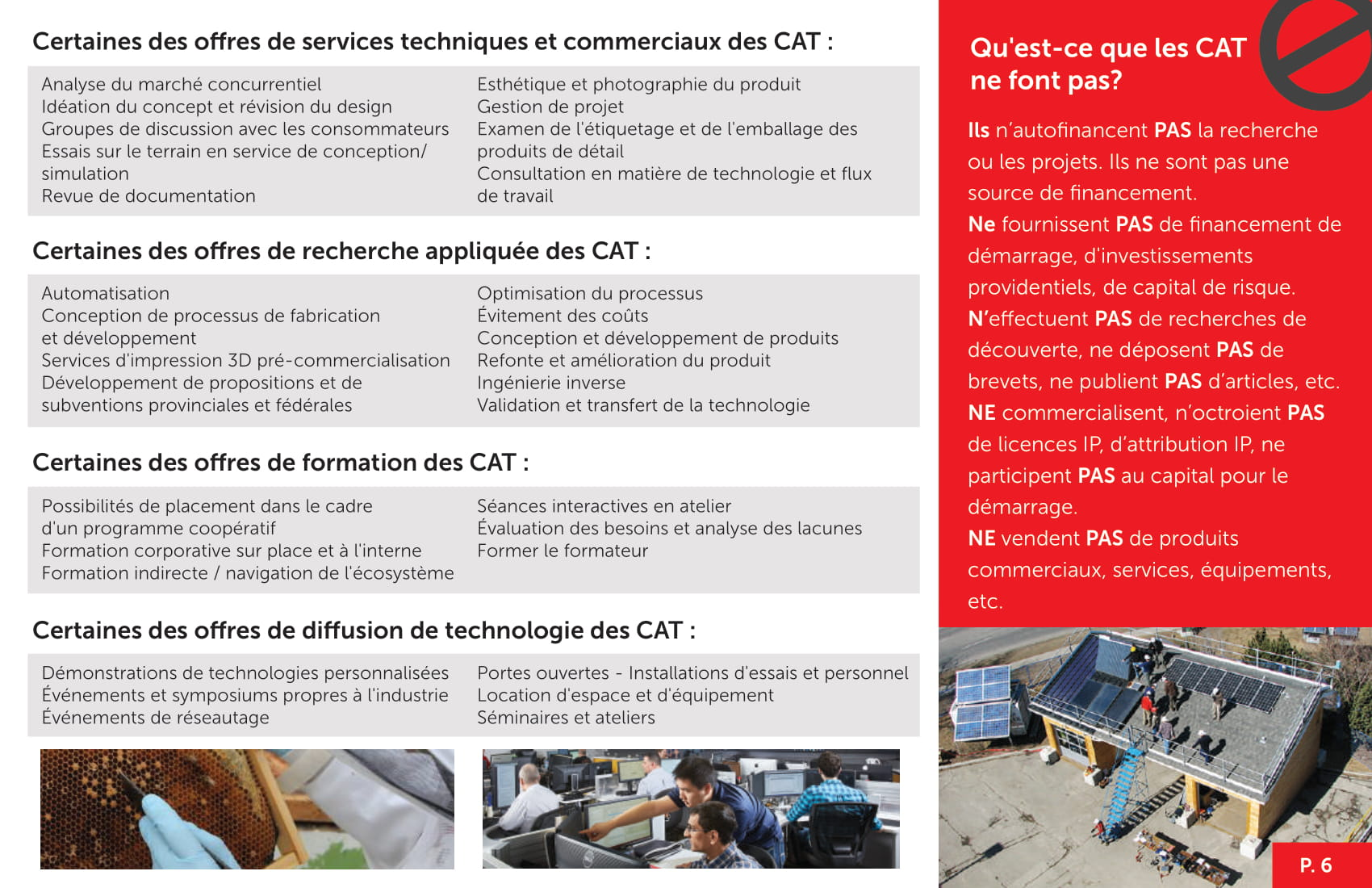 CAT Brochure Page 6
